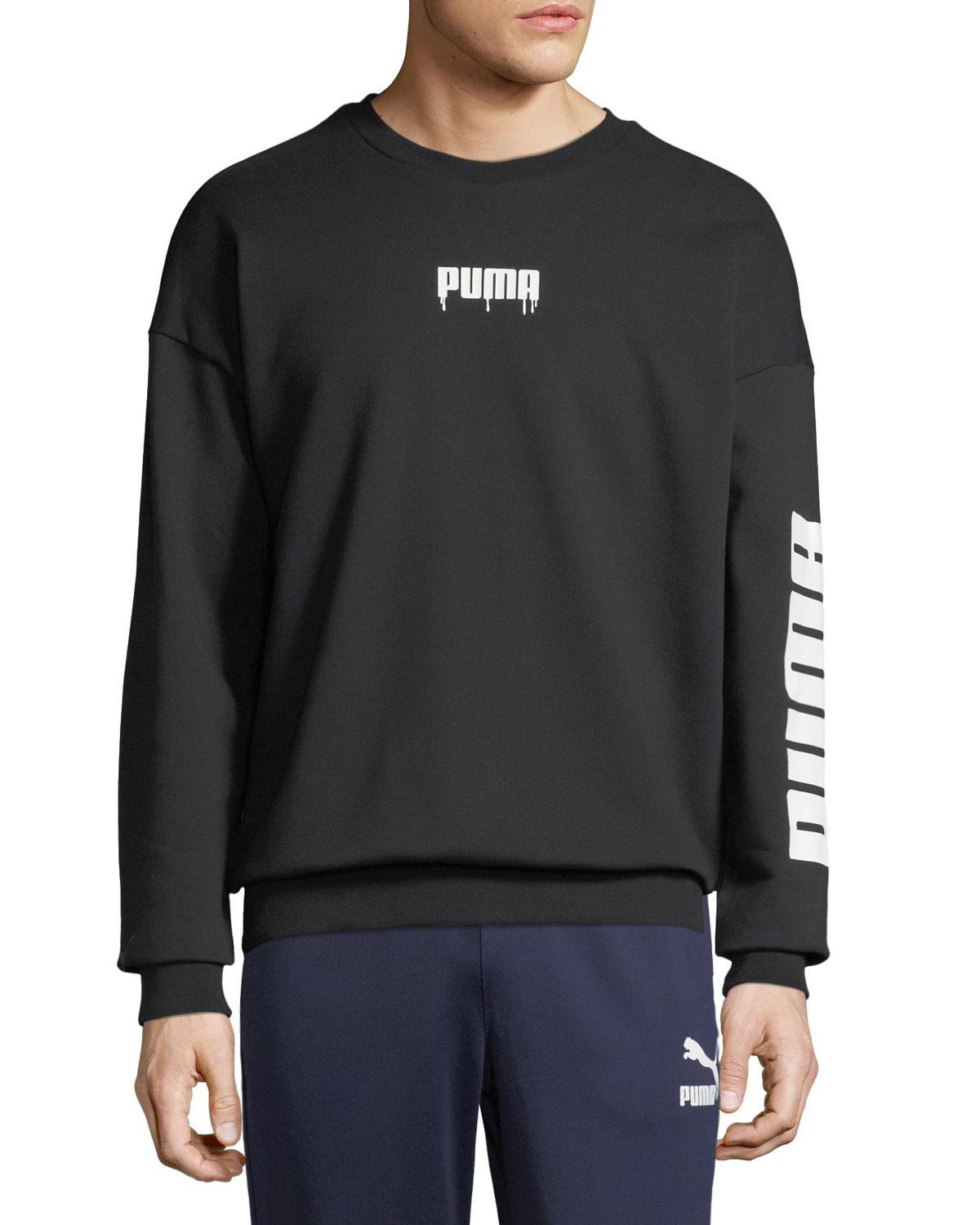 Men's Super Logo Graphic Sweatshirt