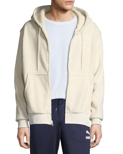 Men's Puma x Big Sean Fleece Zip-Front Hoodie