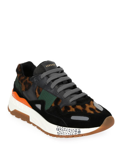 Men's Leopard Runner Sneaker