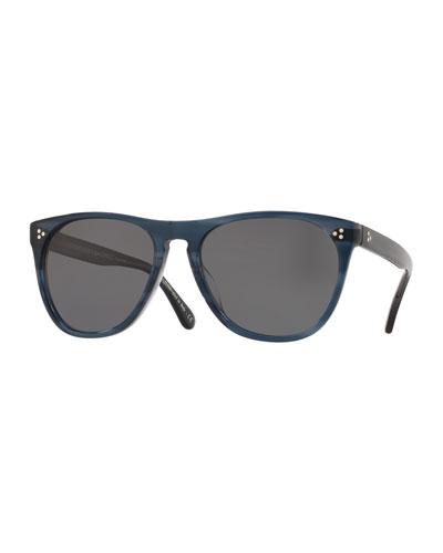 e04bdbdda15f3 Acetate Square Polarized Sunglasses