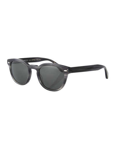 61df49f00bc Quick Look. Oliver Peoples · Men s Sheldrake Round Polarized Sunglasses ...