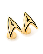 Cufflinks Inc. Star Trek Delta Shield Gold-Plated Cuff