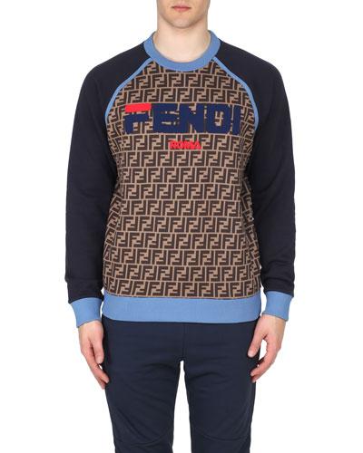 Men's Baseball Crewneck Sweatshirt