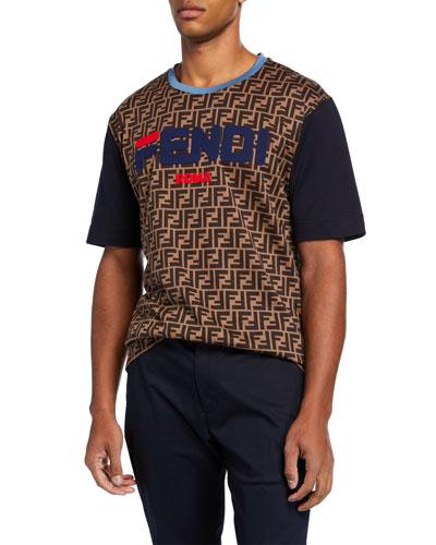 219792813f49 Quick Look. Fendi · Men s Fendi Mania Logo Graphic T-Shirt