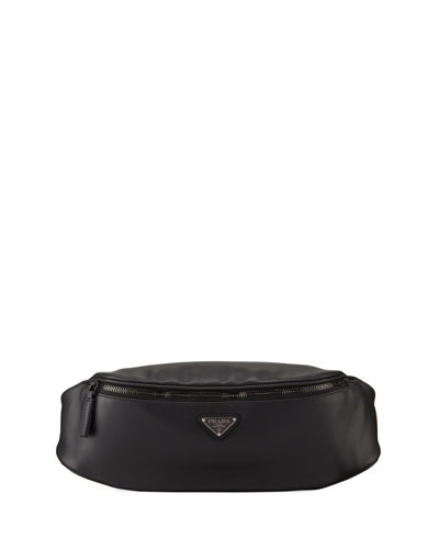 Men's Leather Belt Bag/Fanny Pack