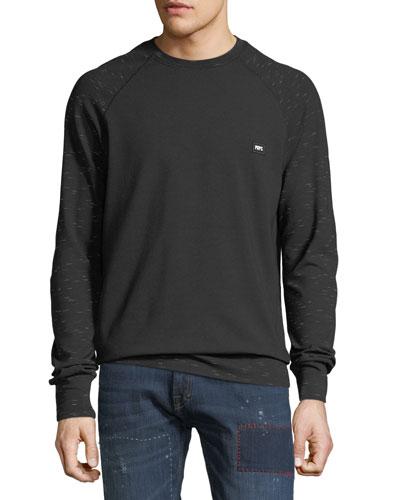 Men's Raglan-Sleeve Sweatshirt