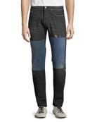 PRPS Men's Japan Lesabre Patch Denim Jeans