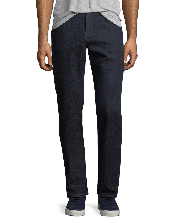 Men'S The Classic Straight-Leg Stretch Jeans, Rock