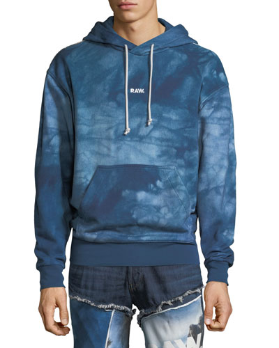 Men's Cyrer Hoodie in Water Graphic