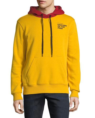 Men's Core Uniform of the Free Two-Tone Hooded Sweatshirt