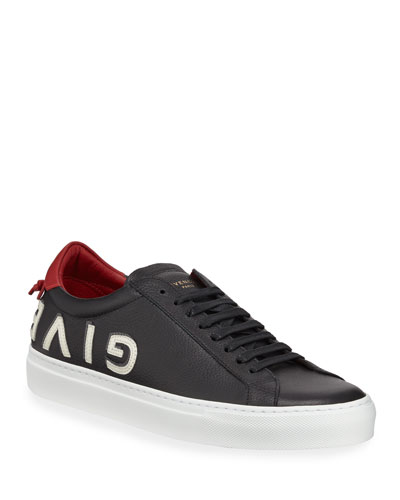 Men's Urban Street Logo Letter Low-Top Sneakers