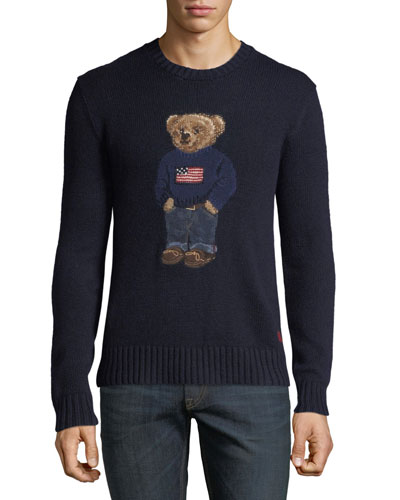 Men's Teddy Bear Sweatshirt