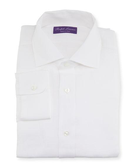 Ralph Lauren Purple Label Men's Serengeti Stretch Poplin Dress Shirt