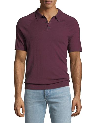 Men's Sleeve-Detail Polo Shirt