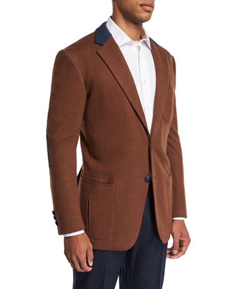 Stefano Ricci Men's Campagna Wool Sport Jacket
