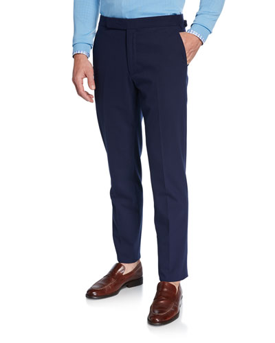 Men's RLX Gregory Flat-Front Pants, Navy