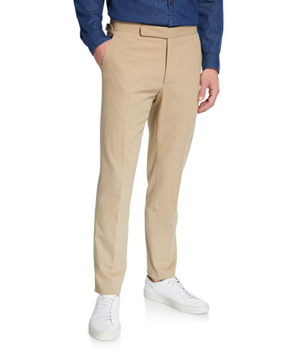 Men's RLX Gregory Flat-Front Pants, Tan