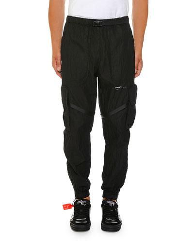 Men's No Color Parachute Cargo Pants