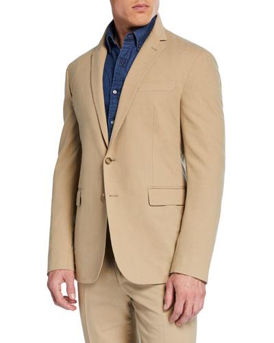 Men's RLX Hadley 2-Button Jacket, Tan