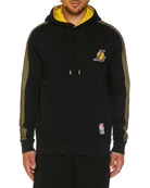 Marcelo Burlon Men's Los Angeles Lakers Mesh Hoodie
