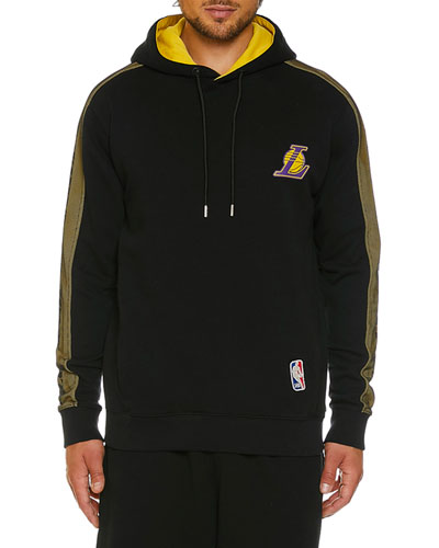 Men's Los Angeles Lakers Mesh Hoodie
