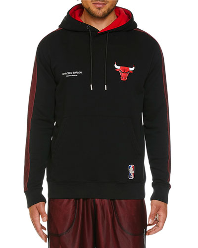 Men's Chicago Bulls Graphic Mesh Hoodie
