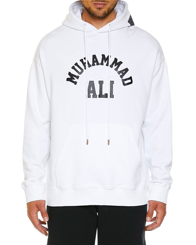 Men's Ali Square Graphic Hoodie