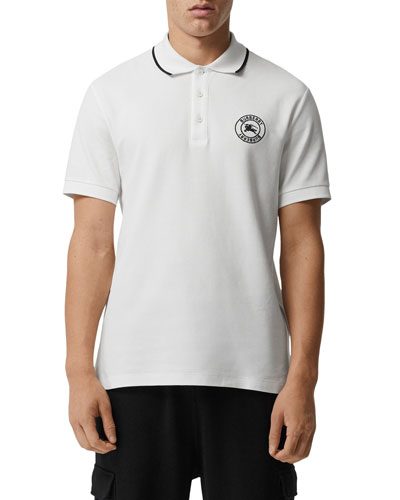 a7d4c2f6c398 Quick Look. Burberry · Men s Moreton Contrast-Tipping Polo Shirt
