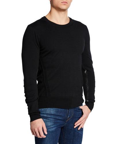 Men's Carter Wool Crewneck Sweater