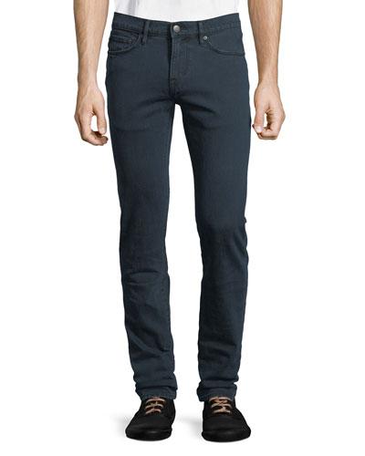 Men's Five-Pocket Slim-Leg Denim Jeans