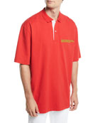 CALVIN KLEIN 205W39NYC Men's Oversized Polo Shirt with