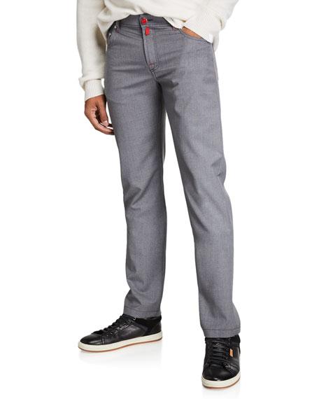 Kiton Men's Natural Stretch Denim Jeans