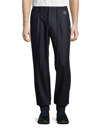 Men's Wool Sport Ski Trousers