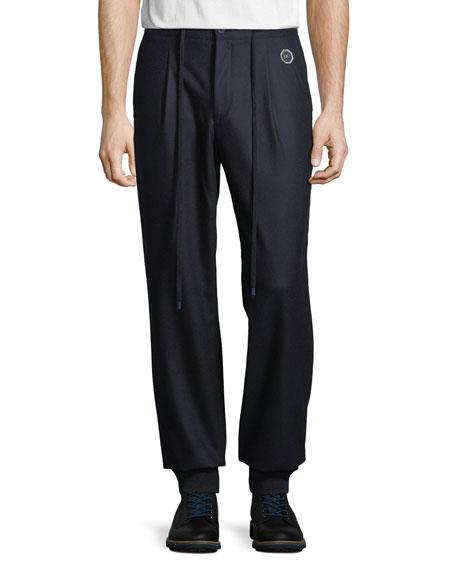 Stefano Ricci Men's Wool Sport Ski Trousers