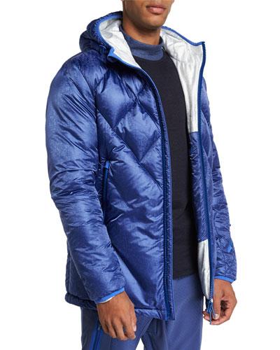 Men's Hooded Down Ski Jacket