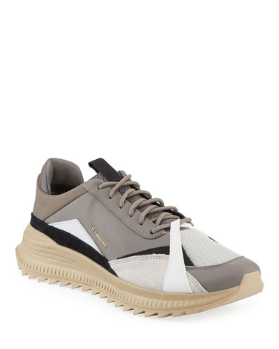 Men's x Han Kjobenhavn Avid Colorblock Leather Sneakers