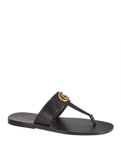 c499148f9b3 Quick Look. Gucci · Men s GG-Stud Leather Thong Sandals