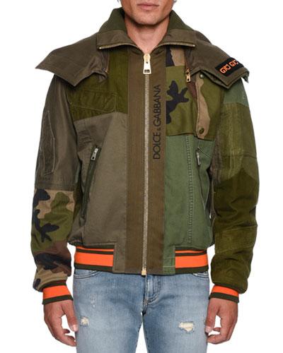 Men's Military Bomber Jacket