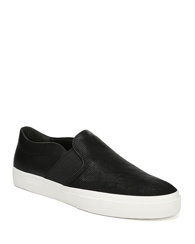 Men's Fenton Perforated Suede Low-Top Sneakers