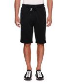 Dolce & Gabbana Men's Logo Drawstring Sweat Shorts