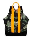 Alexander McQueen Men's De Manta Nylon Backpack