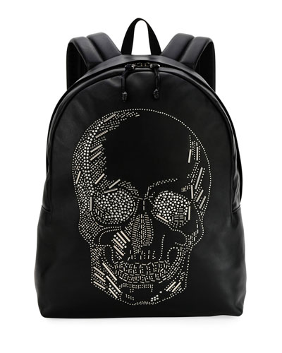 05fd6b7a37 Quick Look. Alexander McQueen · Men s Skull-Studded Small Backpack.  Available in Black