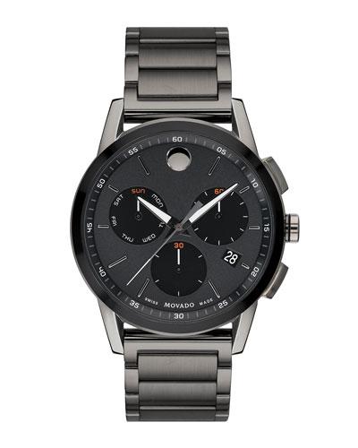 Men's Museum Sport Chronograph Bracelet Watch