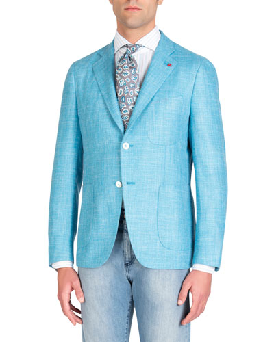 Men's Aqua Blazer
