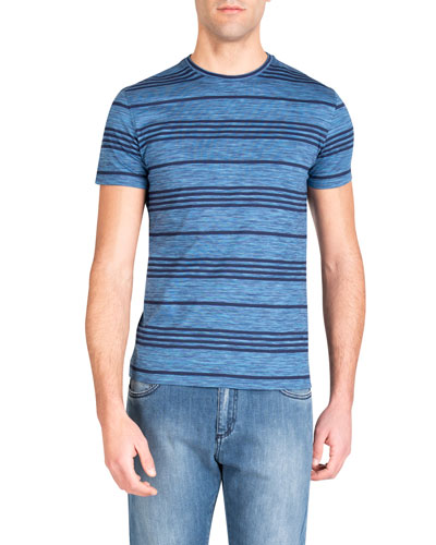 Men's Striped Cotton T-Shirt