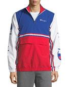 Champion Europe Men's Tricolor Half-Zip Jacket