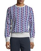 Champion Europe Men's Allover Logo Sweatshirt