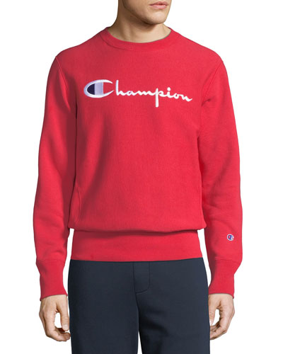 Men's Classic Script Logo Sweatshirt