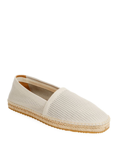 Men's Perforated Mesh Espadrille