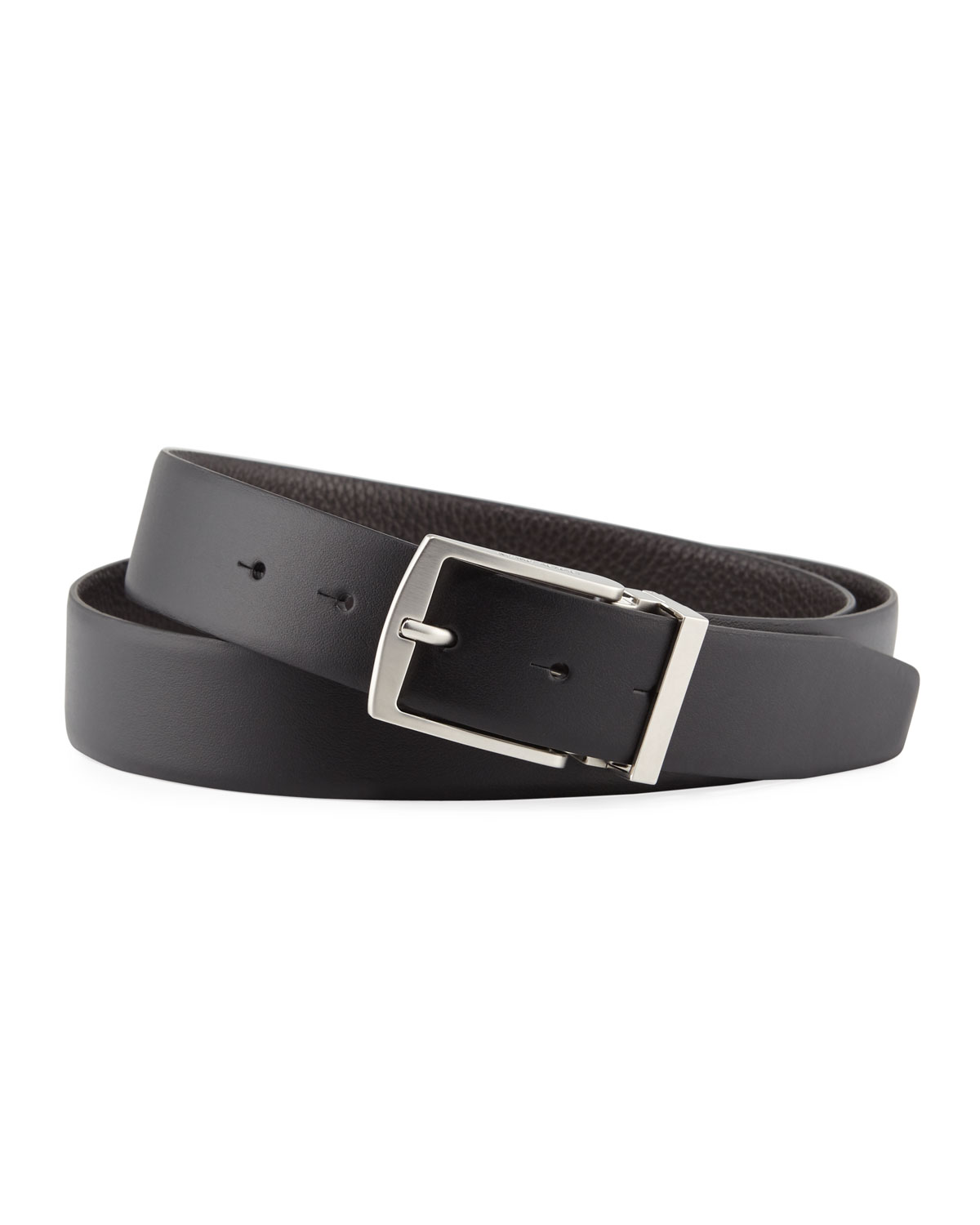 Men's Boxed Gift Set with Reversible Belt & Two Buckles